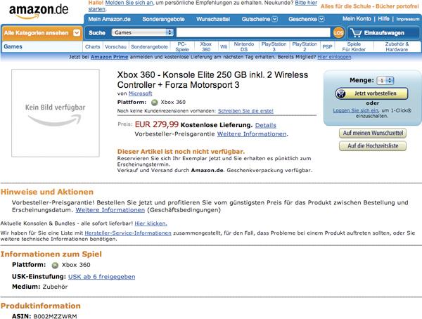 Klicke auf die Grafik f�r eine gr��ere Ansicht  Name:xbox-360-250gb-elite-amazon.jpg Hits:83 Gr��e:213,5 KB ID:79548